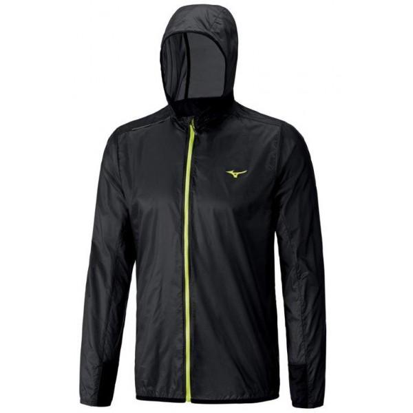 Mizuno Lightweight Hoody Jacket Black J2GC600309 S