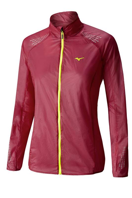 Mizuno Lightweight 7D Jacket Red J2GC620264 L