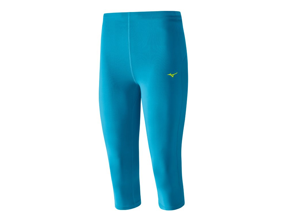 Mizuno DryLite Core 3/4 Tights Atomic Blue J2GB525126 M